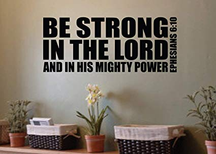 Image result for Bible images on being strong