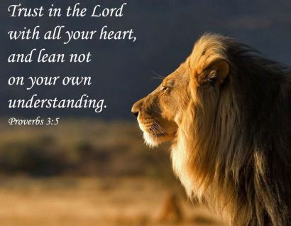 Image result for Trusting in the lord