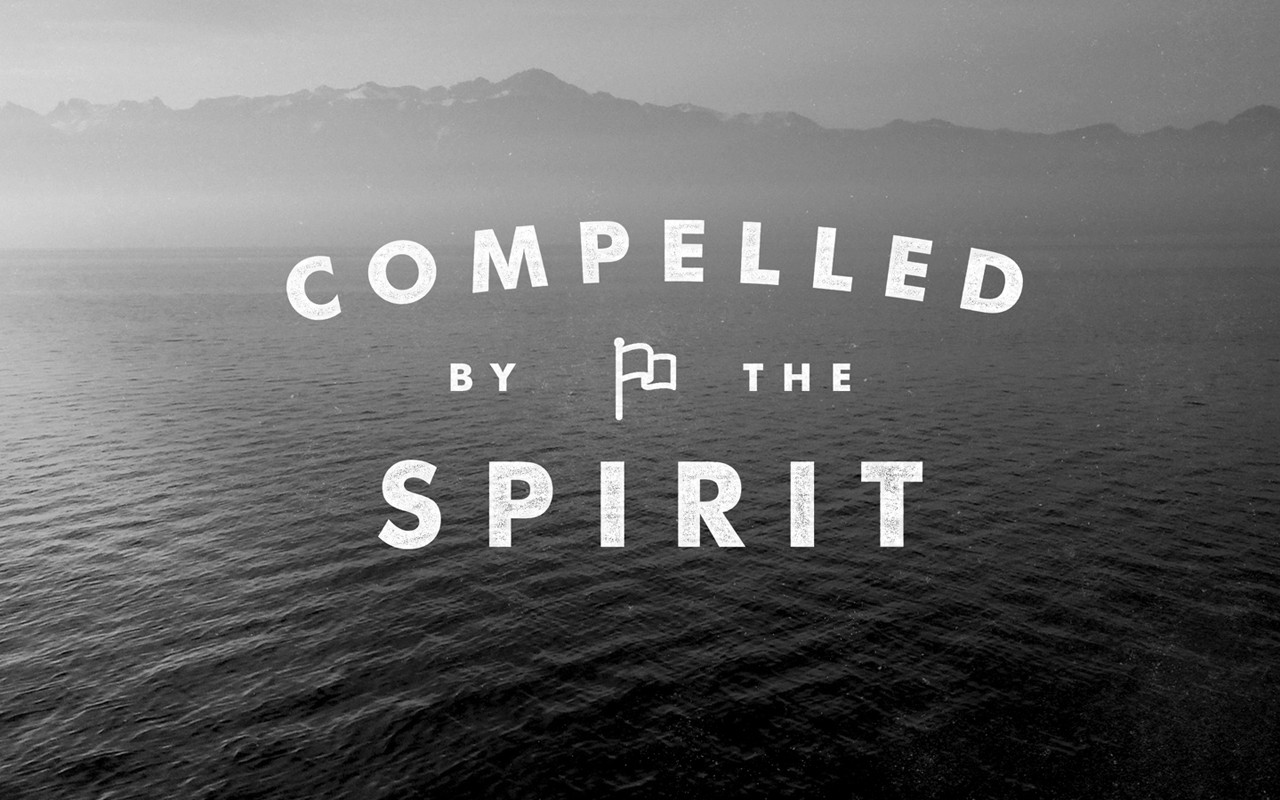 Image result for Compelled by the spirit